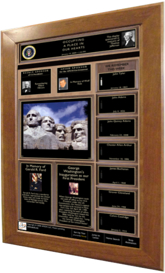 APIOH Memorial Board